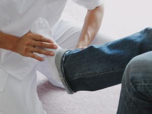 膝・足の痛み治療