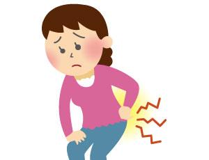 腰の痛みイメージ