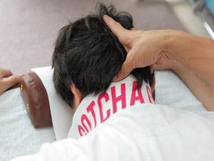 首・あごの痛み治療
